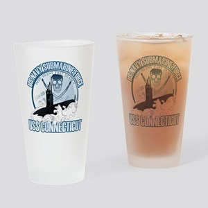 Jolly Roger [SSN 22] Drinking Glass